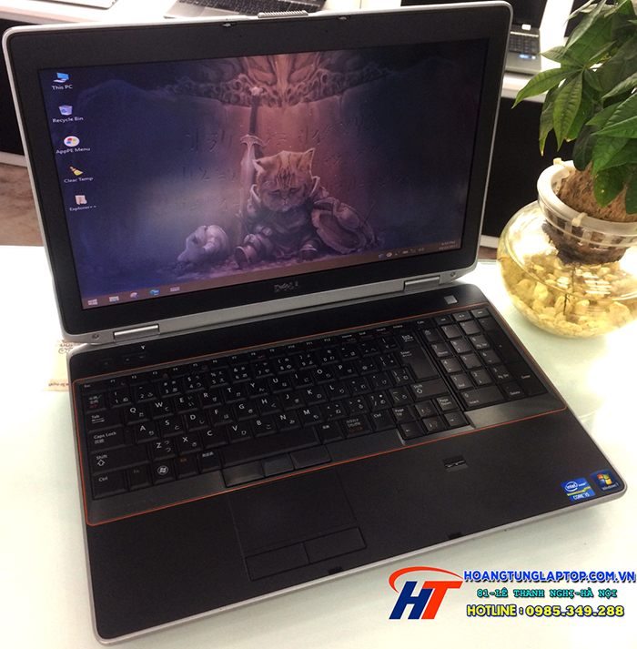 Laptop Dell cũ Latitude E6520 Core i5 2520M, 4GB, 250GB, VGA 512MB NVS 4200, 15.6 inch