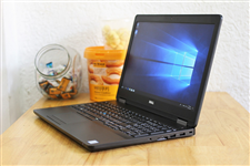 Laptop Dell cũ Precision 3510 ( Core i7-6820HQ, 8GB, SSD256GB, AMD FirePro W5130M 2Gb, 15.6inch )