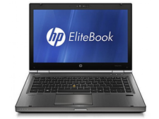 Laptop HP cũ Elitebook 8460w Core i5-2520M, 4GB, 250GB, VGA 1GB AMD FirePro M3900, 14 inche
